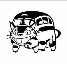Catbus My Neighbor Totoro Studio Ghibli Die Cut Vinyl Sticker Decal Laptop Car Ebay