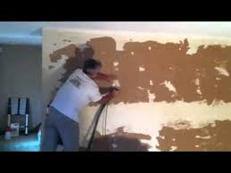 refinishing after wallpaper removal