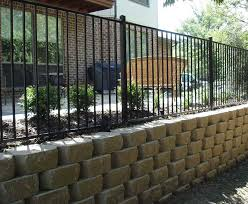 Retaining Wall Companies Lifetime Fence Retaining Wall Installation
