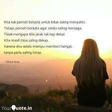 kita tak pernah berjanji quotes writings by rain yourquote