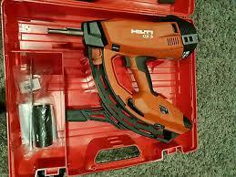 hilti gx 3 nail gun 2 years warranty