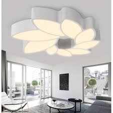 modern wrought iron flower ceiling lamp