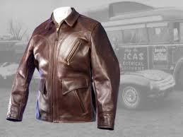 hercules horsehide leather jacket