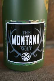 The Logo Vinyl Decal The Montana Way