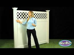 Wambam Fence Curious George 6ft Privacy Vinyl Fence Youtube