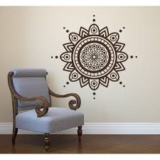 Shop Boho Mandala Wall Decal Mehndi Sticker Overstock 31672213