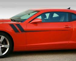 Product 2010 2011 2012 2013 2014 2015 Chevy Camaro Fender To Side Rally Stripes Decals