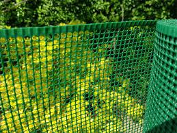 Green Plastic Garden Mesh 4x4mm Small Square Mesh Plastic Fencing