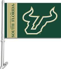 Usf Bulls Double Sided Car Flag Gator Haven