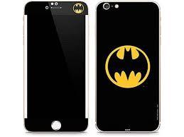 Dc Comics Batman Iphone 6 6s Plus Skin Batman Logo Vinyl Decal Skin For Your Iphone 6 6s Plus Newegg Com
