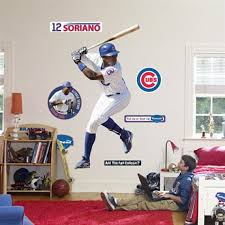 Fathead Chicago Cubs Alfonso Soriano
