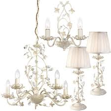 cream indoor lighting sets matching
