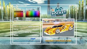 Rocket League Black Market Decal Fire God On The Most Popular Cars