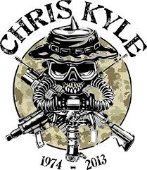 Amazon Com Wall Chris Kyle Memorial American Sniper Camouflage Car Window Decal Vinyl Sticker Navy Seal Home Kitchen Combate Simbolos