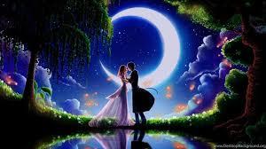 bright good night couples kiss full hd
