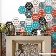 Moroccan Tiles Pvc Waterproof Self Adhesive Wallpaper Furniture Bathroom Diy Arab Tile Sticker Pvc Desktop Wallpaper Hd Wall Art Vinyl Stickers Wall Art Wall Decals From Home Decor Wallpaper 39 4 Dhgate Com