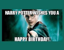 funny harry potter birthday wishes