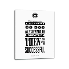 Eric Thomas Quote Canvas Inspirational Stretched Canvas Ready To Hang 28x22 Inches Eric Thomas Quotes Motivational Wall Quotes Inspirational Wall Decals