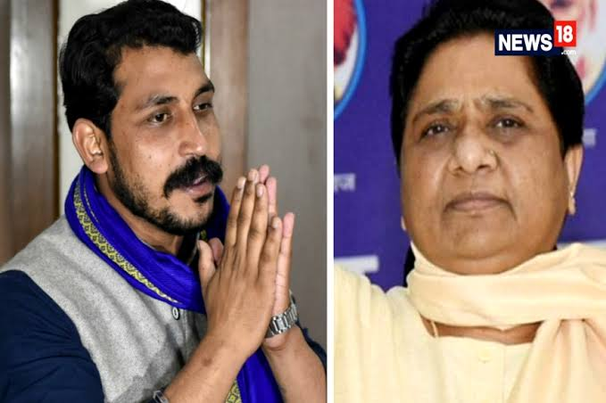 Image result for Bhim Army chief appeals to Mayawati to support the Bahujan movement""