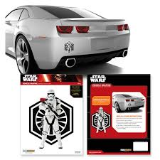 Star Wars The Force Awakens Stormtrooper And First Order Symbol Car Decal