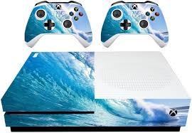 Vwaq Xbox One Slim Ocean Skins Decal Xbox One S Water Skin Covers Vwaq Xsgc9 Video Game Walmart Com Walmart Com