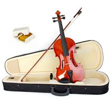 acoustic fiddle kit with hard case bow