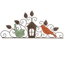 birds house metal wall decor hobby