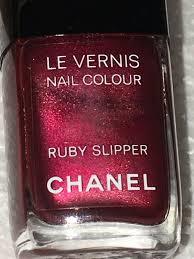 chanel ruby slipper nail polish bnib