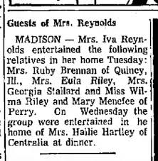 Guests of Iva Reynolds - Newspapers.com