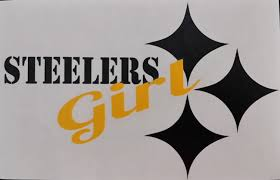 Steelers Girl Large Decal
