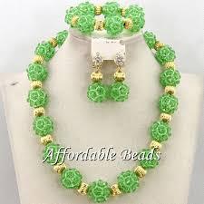 african beads beautiful wedding jewelry