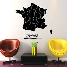 France Map Wall Decal World Travel Stickers For Livingroom Paris Cities Special Design Maps Art Mural Diy Interior Kids Stickers For Home Stickers For Home Decoration From Joystickers 12 21 Dhgate Com
