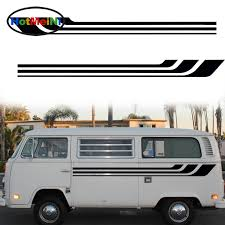 Exterior Accessories 20cm 2x Slender Streamlined Stripes Art Life Stripe Car Body Sticker Suv Van Styling Decal Accessories 200 Itrainkids Com
