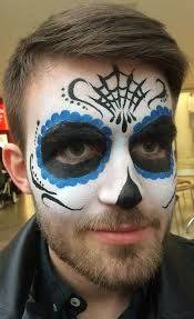 day of the dead makeup for dudes with