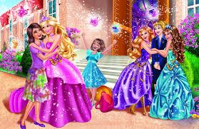 beautiful barbie princess charm