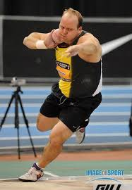 Toyota USATF Indoor Championships - Photos - Adam Nelson in the shot put