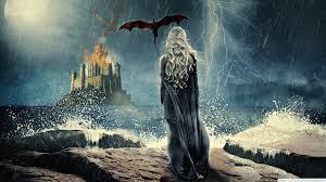 48 game of thrones dragon wallpaper