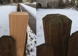 How Do I Cut A Beveled Fence Post Cap On Already Installed Fence Posts Home Improvement Stack Exchange