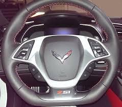 Corvette C7 Singray Z51 Vinyl Decal For Steering Wheel Red Silver Zava International Corp