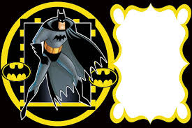 Batman Convite Moldura Lateral Jpg 1 600 1 066 Pixeles Con