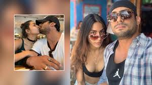Pics: Prateik Babbar and Sanya Sagar's passionate kiss from their vacation  is breaking the internet | Bollywood Bubble