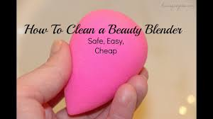 clean your beauty blender