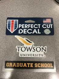 Decal Tu Grad School University Store