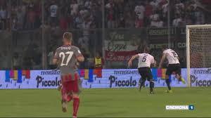 Cremonese-Spezia: Paulinho come il grande Pelè - YouTube