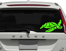 Turtle Car Window Decal Car Decal Hawaii Turtle Decal Animal Etsy