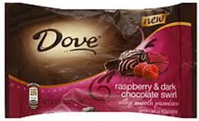 dove raspberry dark chocolate swirl