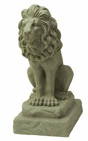 guardian lion statue the garden and