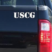 Uscg Military Us Coast Guard Vinyl Decal Sticker Car Truck Door Window Bumper