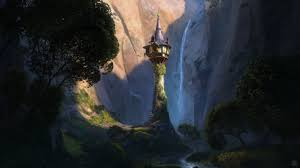 tower from tangled desktop wallpaper