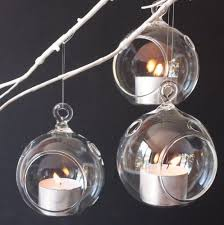 glass ball tealight holders at rs 150